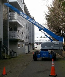 Reflective Window Cleaning Inc - Boom Lift